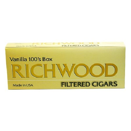 Richwood Filtered Cigars Vanilla (DISCONTINUED)