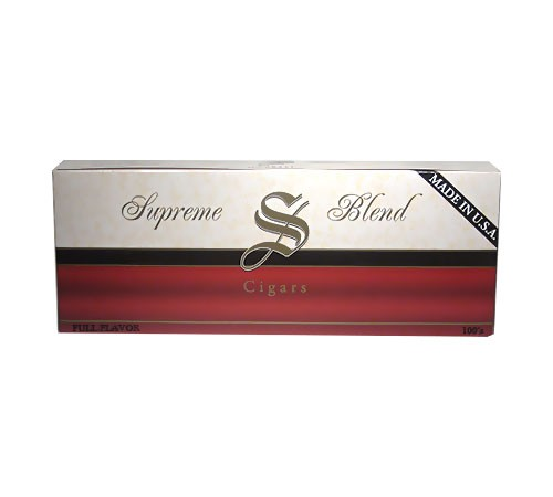 Supreme Blend Filtered Cigars Full Flavor BOX