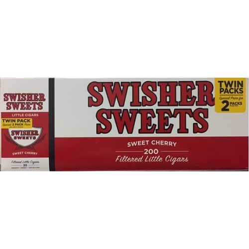 Swisher Sweets Little Cigars Cherry Twin pack