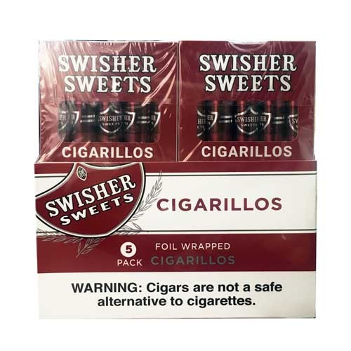 Swisher Sweets Cigarillo Regular  5 Pack (5FOR3)