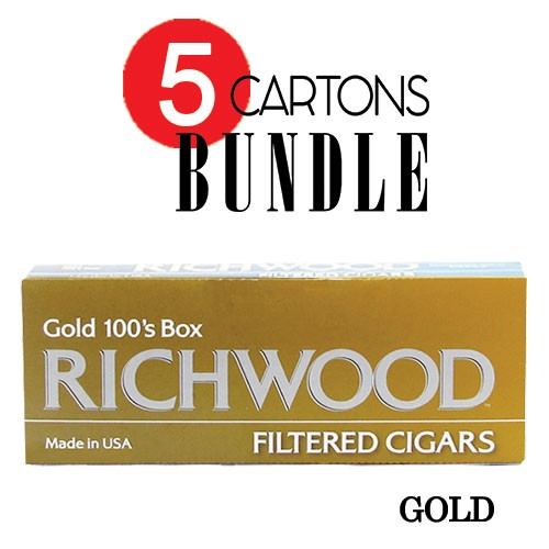Richwood Filtered Cigars Gold Bundle5